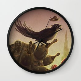The Tower Herald Wall Clock
