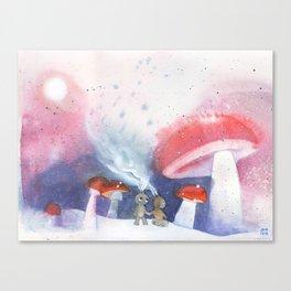 Wanderers 002 Canvas Print