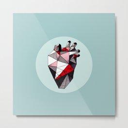 Minty Bubble Heart vol. 2 Metal Print