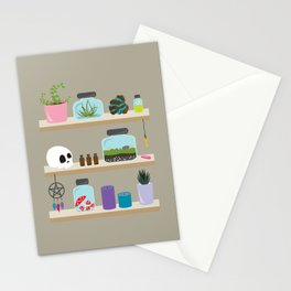 Witchy Shelves, The Other Wall Stationery Cards