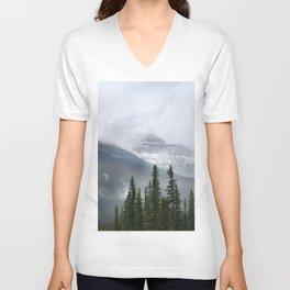 Misty Mountain Top Unisex V-Neck