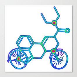 Electric LSD Bike Canvas Print