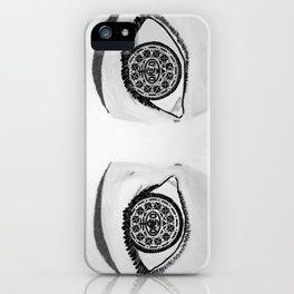 Oreo Eyes iPhone Case