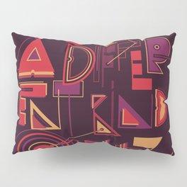 A Different Buzz Pillow Sham