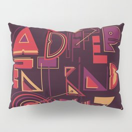 A Different Buzz Pillow Sham