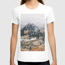 Mountains + Flowers T-shirt