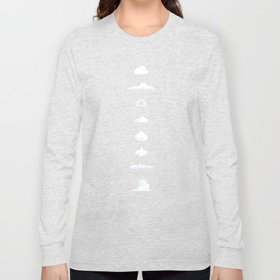 Famous Clouds Long Sleeve T-shirt