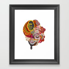 why not sneeze ... Framed Art Print