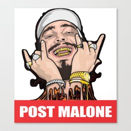 malone drippin' Canvas Print