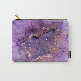 Amethyst Geode Carry-All Pouch