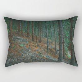 into the woods 02 Rectangular Pillow