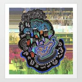 River Mouth Art Print