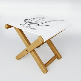 A simple flying dragon Folding Stool