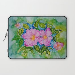 Alberta Wild Rose Laptop Sleeve