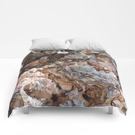 TEXTURES: Weeping Big Cone Pine Bark Comforters