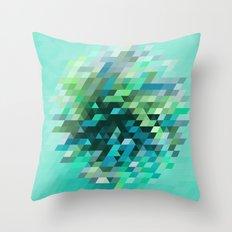 Cluster 2 Throw Pillow