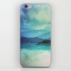 Tropical Island Multiple Exposure iPhone & iPod Skin