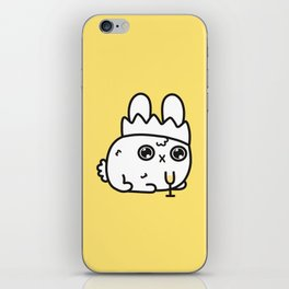 New Year bunny iPhone Skin