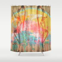 african Shower Curtains featuring African Beauties by Robin Curtiss