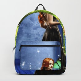 Red Head - Through The Door To Worlds Unknown Backpack