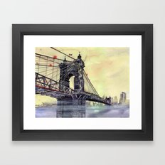 Cincinnati Framed Art Print
