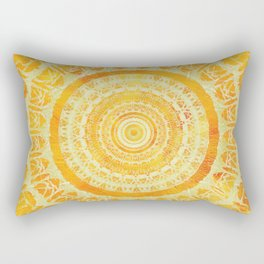 Sun Mandala 4 Rectangular Pillow