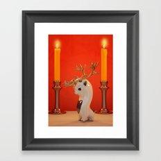 Little Rudi. Framed Art Print