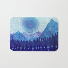 Purple Mountain Majesties Bath Mat
