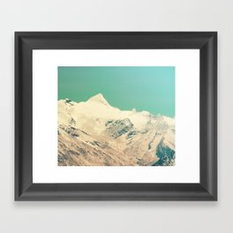 Cool Slopes Framed Art Print