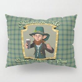 Shamrock Ale Pillow Sham