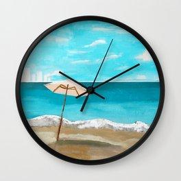 ST LUCIA Wall Clock