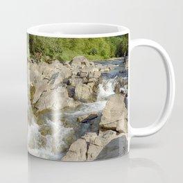 Blue whirlpools waterfall Coffee Mug