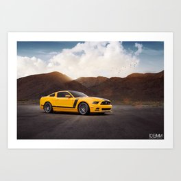 Ford Mustang Boss 302 Art Print