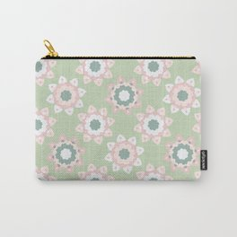Pastel Daisies Allover Style Seamless Pattern Carry-All Pouch