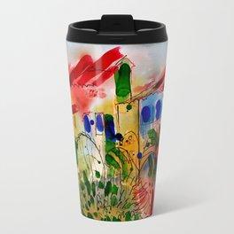The Colors of Menton! Travel Mug
