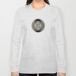 X-ray diffraction image of DNA Long Sleeve T-shirt