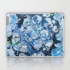 Marbled Blue Universe Laptop & iPad Skin