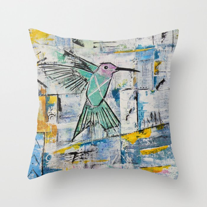 Childhoods End Throw Pillow