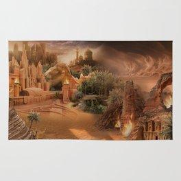 Desert paradise on the edge of Hell - Sandstorm Rug