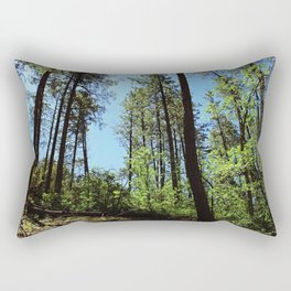 Among the Trees in the Wood Rectangular Pillow