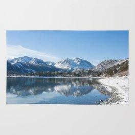 Mountain Reflection Rug