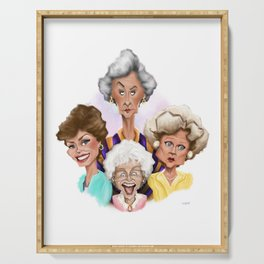 Fab Four Serving Tray
