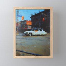 Warm & Windy Framed Mini Art Print