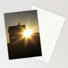 Nubble Lighthouse - York, Maine. March, 2020 Stationery Cards