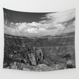 North_Rim Grand_Canyon, AZ - B&W I Wall Tapestry