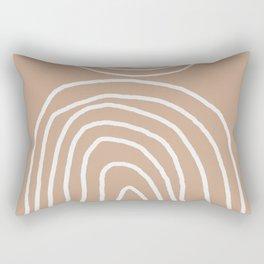 Abstract Rainbow, Rectangular Pillow