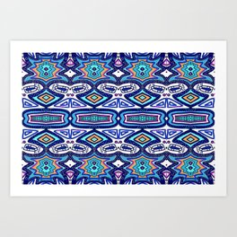Graffiti Pattern Art Print