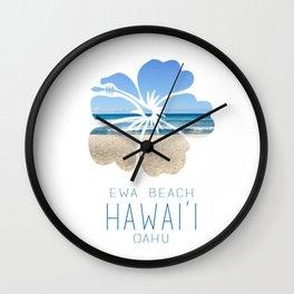 Ewa Beach  Wall Clock