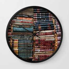Books Wall Clock