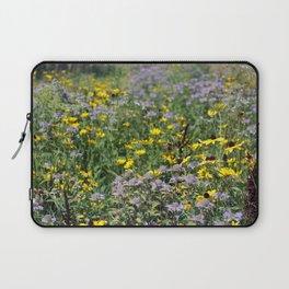 Native Prairie Flowers Laptop Sleeve